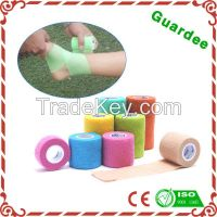 High Quality Customer Colors Non-woven Wound Cohesive Bandage