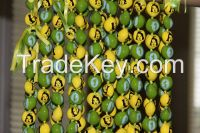 Printed Kukui Nut Necklace for Party Favors