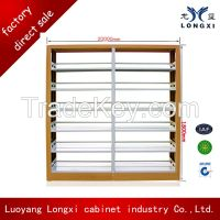 On promotion steel libiary shelf, metal book rack cabinet from luoyang factory