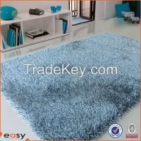 America style colorful blocks design shaggy pile carpet
