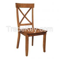 solid rubber chair with KD construction