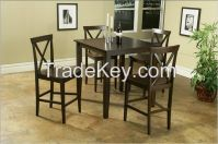 solid rubber dining set