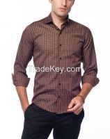 Men's Plaid casual Shirts