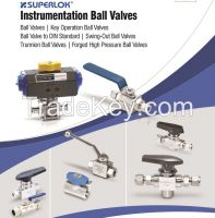 SUPERLOK Instrumentation Ball Valves