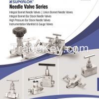 SUPERLOK Instrumentation Needle Valves