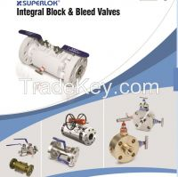 SUPERLOK Double Block and Bleed Valve