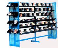 Stationary shelves