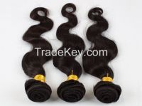 "Body Wave Brazilian Hair Weave 4 Bundles/lot Mixed Length 12-28"" 5A Unprocessed Free Shipping"
