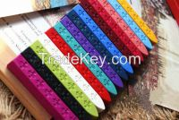 9 1.1 1.1cm colorful sealing wax stick stamp wax for documents sealing and decor 5 pcs lot