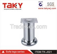 021 hot sale metal sofa leg Cylinder leg