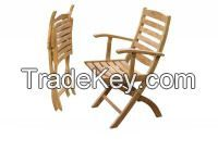 Folding Arm Chair Maluku