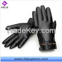 men's fashion five gingers leather gloves factory