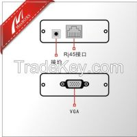 1-CH Passive VGA Extender Over Cat5e/6 Cable/VGA To RJ45 Converter