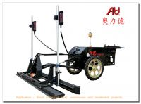 laser guided concrete screed laser guided machine