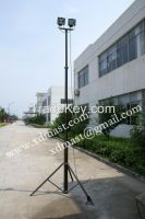 4m 6m 8m pneumatic mast, pneumatic telescopic mast , high mast light