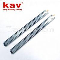 76mm width ball bearing slides full extension heavy duty slide rails
