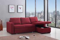 Fabric corner sofas sofa bed with Storage Cabinet