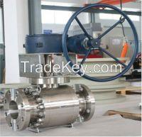 High pressure F316 hard sealed ball valve