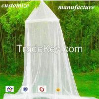 2015 beautiful circular princess bed canopy mosquito net for girl's bed