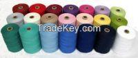 coloured cotton yarn