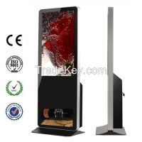 42 Inch Android Touch Player With Shoe Polisher