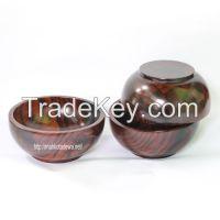 Wooden Bowl Sono << >> Mangkok Kayu Sonokeling