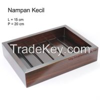 Wooden Spa Tray Small - Nampan Spa Kecil