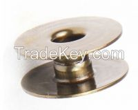 Sewing Machine Bobbins for Singer 95K, 96K, 195K and 196K Industrial Sewing Machines (No holes)