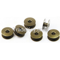 Supply Top-Quality Sewing Machine Spare Parts Bobbins for Singer 95K, 96K, 195K and 196K Industrial Sewing Machines (No holes)