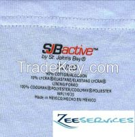 HOt Selling Heat Transfer labels  for Garment and fashion Accessories