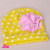children hat baby hat 100% cotton lovely infant headwear polka dots baby cap