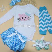 Wholesale Baby  clothes  2015 New Style Infant clothing  5PCS cute infant clothes