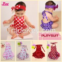 2015 new fashion baby bodysuit lace ruffle baby girl carters floral baby clothes