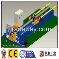 induction heating pipe bending machine