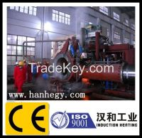pipe bending machine by induction heating
