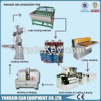 Daily use air freshener aerosol can production line