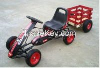 Pass CE Certificate Kids Pedal Go Kart (with a Trailer)