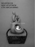 Desktop table fountain, Newest designs with LED lights,
