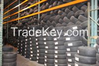 Used Tyres for Export with 30% to 80% of Tread