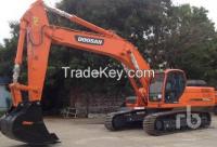 Used 2014 Doosan Dx340lca Hydraulic Excavator