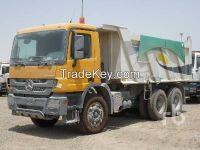 Used 2014 Mercedes-Benz Actros 4040 6x4 Dump Truck (T/A)