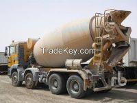 Used 2008 MAN TGA41.360 8x4 Mixer Truck