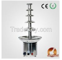 5 tiers #304 stainless steel Commercial chocolate fountain