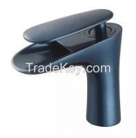 Lead and copper free basin faucet