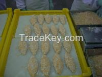 breaded fishfillet