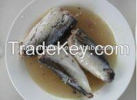canned mackerel in brine (tomato sauce)