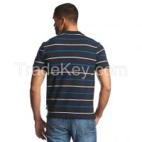 Mens Yarn Dyed Stripe Polo Shirt Wholesale China Factory  3170202