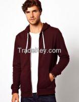 Men Sports Fleece Hoodie Zipper Sportswear OEM Factory  3170210