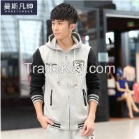 Hoodie and round neck hoodie C1502