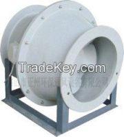 FGXF glass fiber-reinforced plastic oblique flow fan